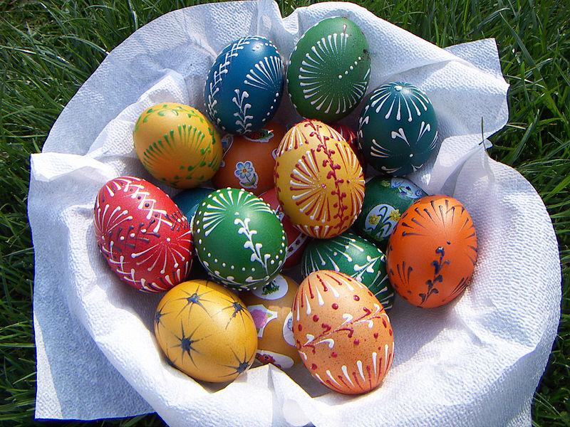 Ricetta Uova di Pasqua